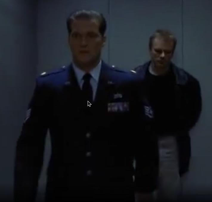 The Stargate Command Sergeant Major, lmao :D